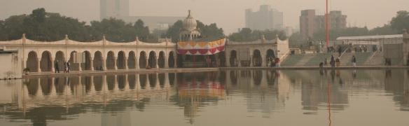 Die indische Hauptstadt erwacht. Foto: Lisa Kügel