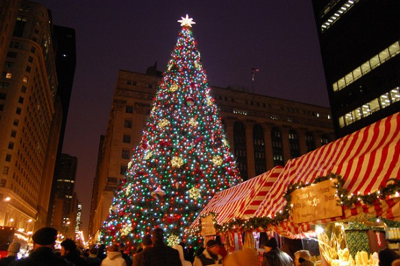 Franken am Lake Michigan: der Chicago Christkindlmarket.