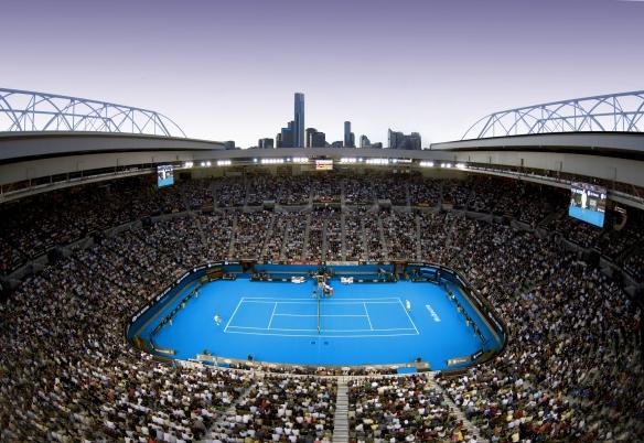 Momentan auf eigene Gefahr: Tennis in australischer Hitze. Snoopy kommt eventuell auch.