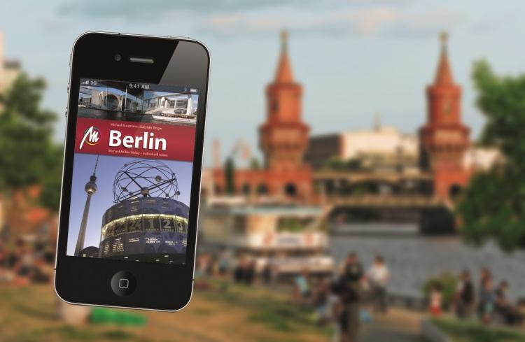 App nach Berlin - der Michael Müller Verlag präsentiert sich auf der weltgrößten Tourismusmesse.
