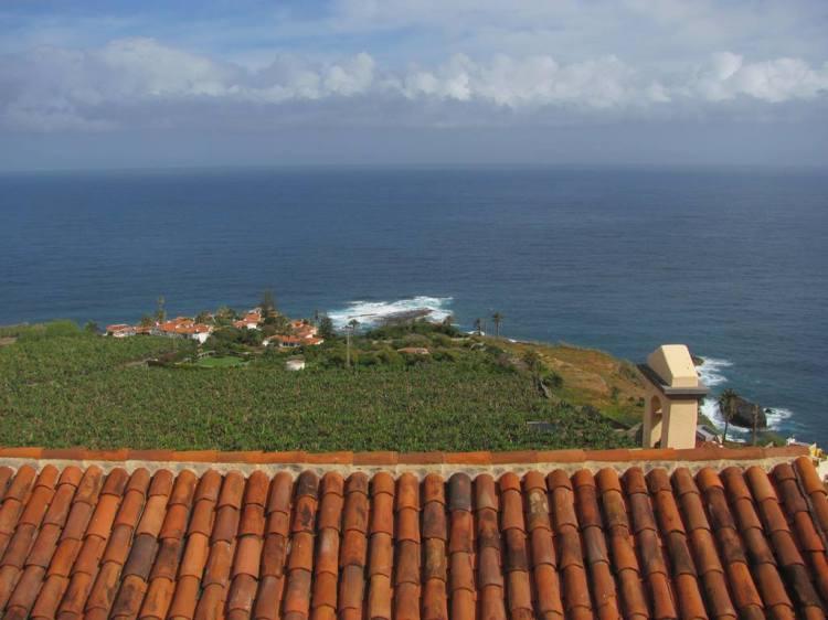 Aussichtspunkt über einer Plantage in San Pedro