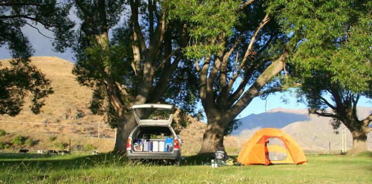 Kostenloser Campingplatz bei Twizel auf der Südinsel. (Foto: S. Hoffmann)