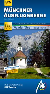 Münchner Ausflugsberge MM-Wandern, 2. Auflage 2014, farbig, 14,90 EUR