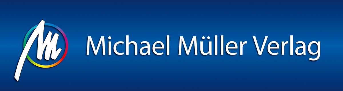 Schriftzug Michael Müller Verlag Erlangen